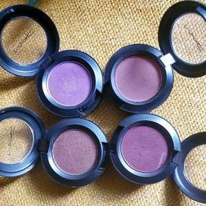 MAC bundle of 4 single shadows